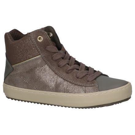 Bronzen Hoge Schoenen met Rits/Veter Geox | SCHOENENTORFS.NL | Gratis verzend en…