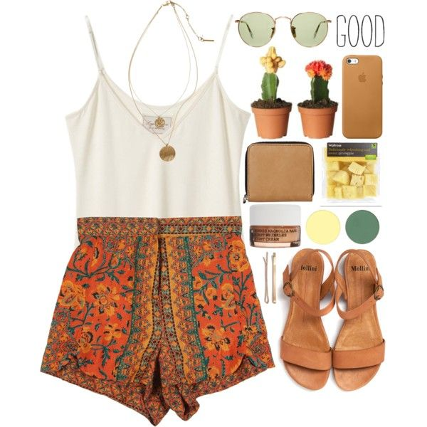 June #2 by meloissa on Polyvore featuring Monki, Ray-Ban, Madewell, Korres and Kenneth Cole