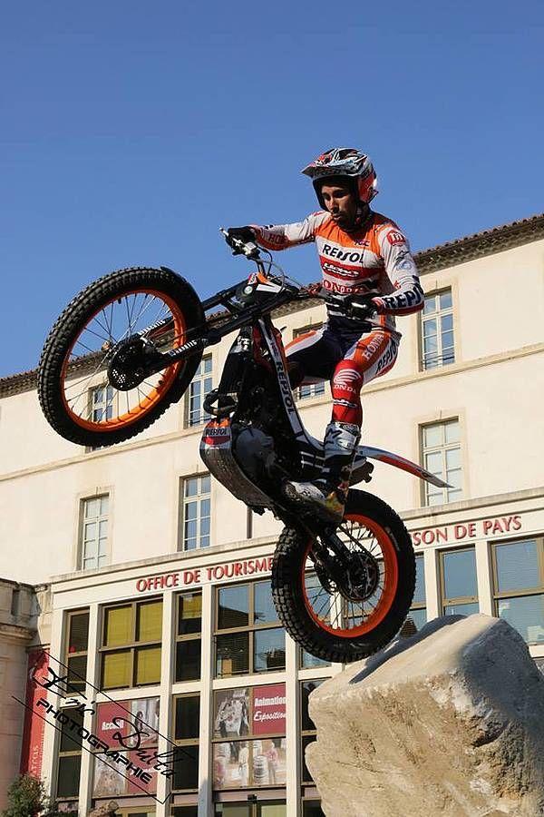 moto trial : Carpentras Toni Bou Montesa Honda HRC