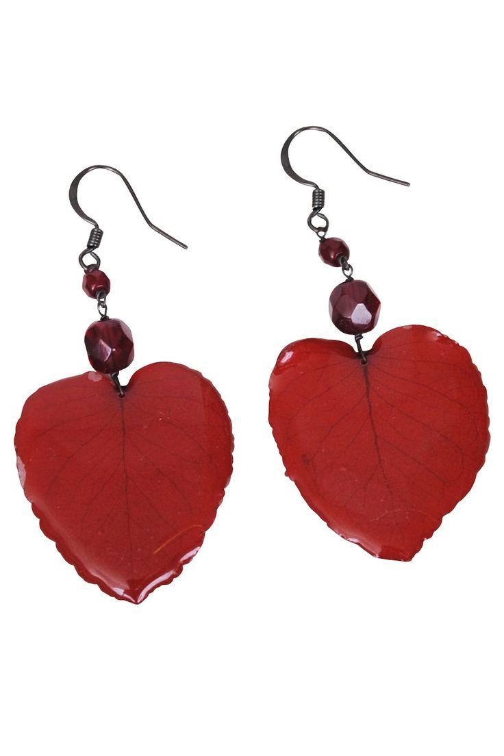 Margot-heart earrings