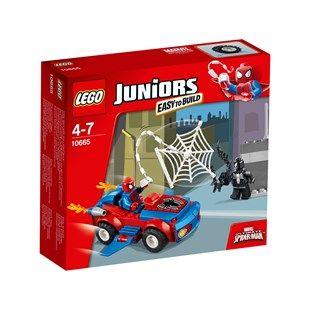 LEGO Juniors Spider Man Spider Car Pursuit 10665