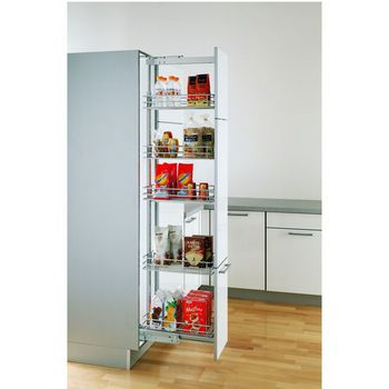 Pantry Cabinet Pull Out Systems Ez Close Dampening Slides By Vauth Sagel Kitchensource