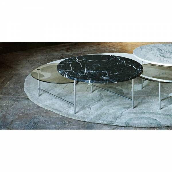 Zoro Coffee Table Black Marble Smoked Glass Top Zorro Is A Minimalist Yet Graphical Coffee Table The Masked Hero Sig Coffee Table Smoked Glass Black Marble