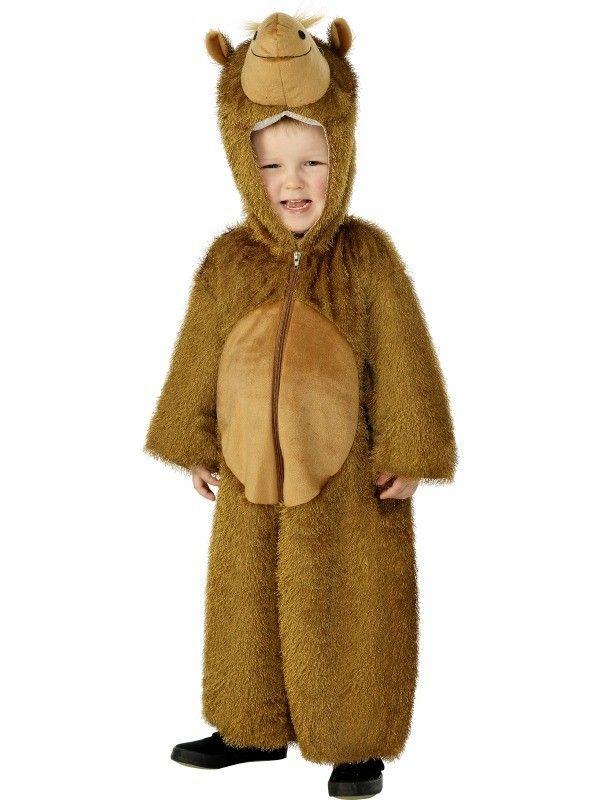 Camel Jumpsuit Onesie Pyjamas Boys Size Med 5 - 8 Boys Costume