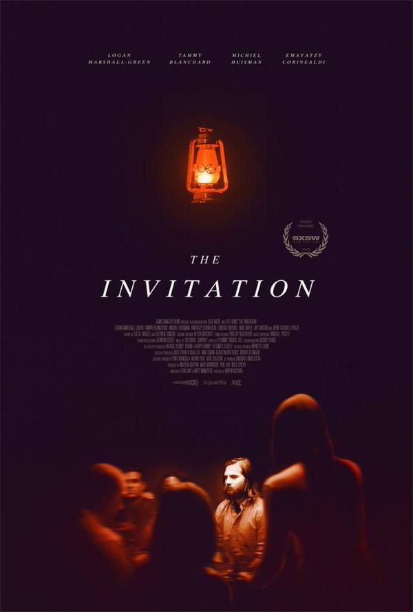 The Invitation 2015 Movie - While attending a dinner party at his former home, a man thinks his ex-wife and her new husband have sinister intentions for their guests.