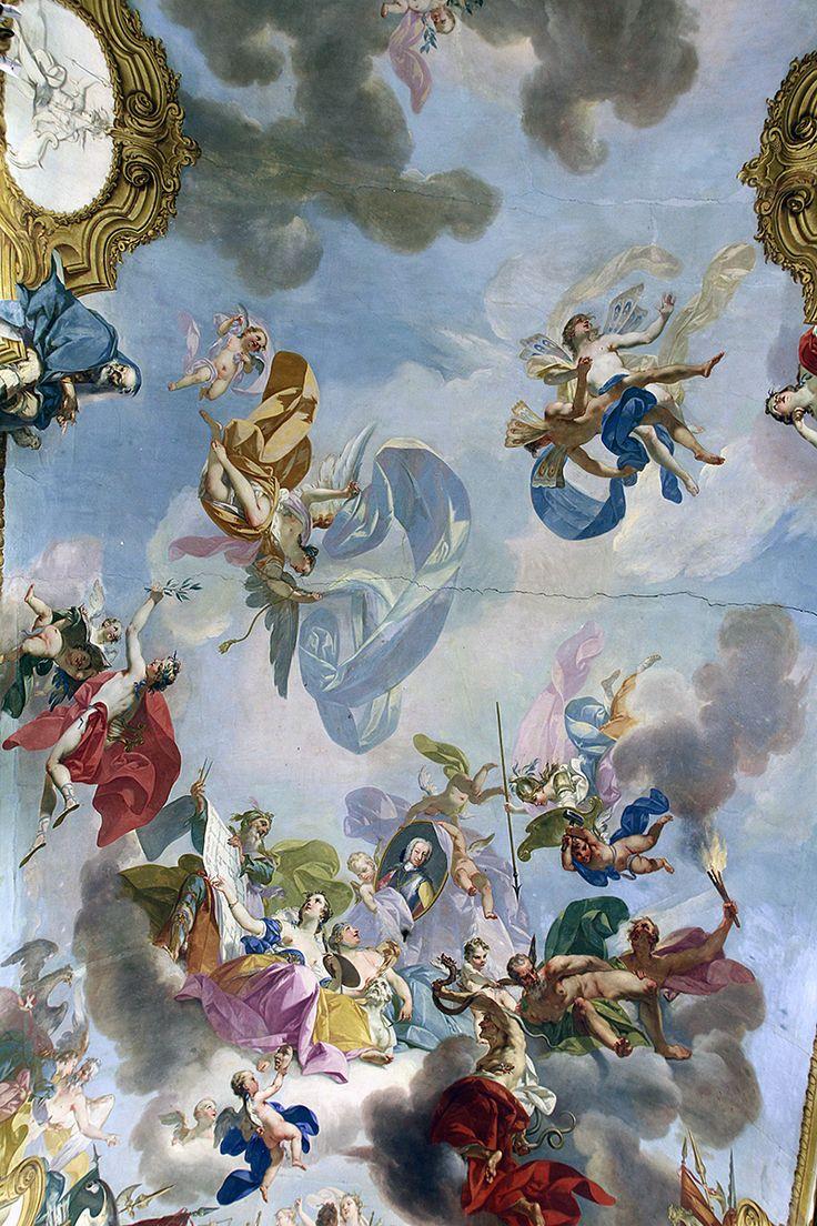 Affresco della volta della Galleria delle Battaglie - Palazzo Reale
