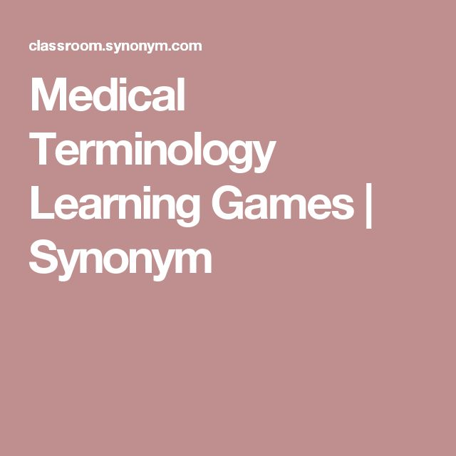 Tips on Teaching Medical Terminology | The Classroom