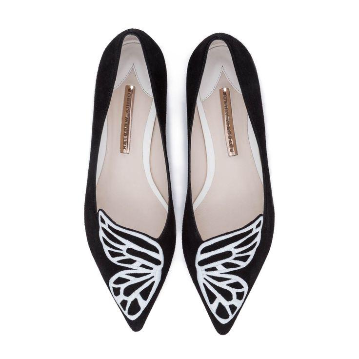 Sandales en daim à motif papillon BibiSophia Webster OA5KMRU