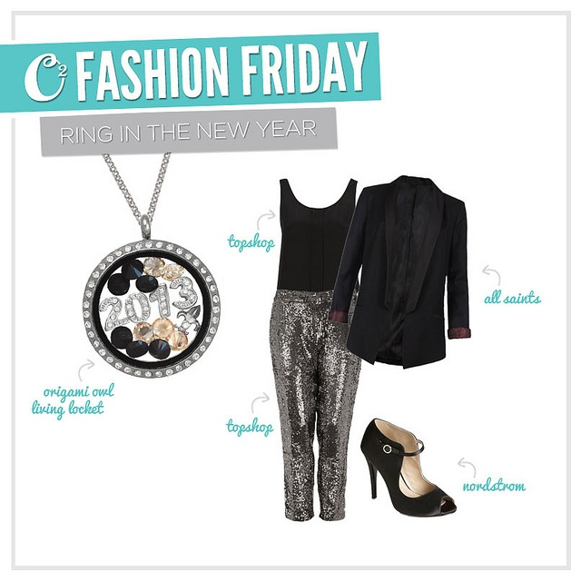 ring in the new year origami owl174 style pinterest