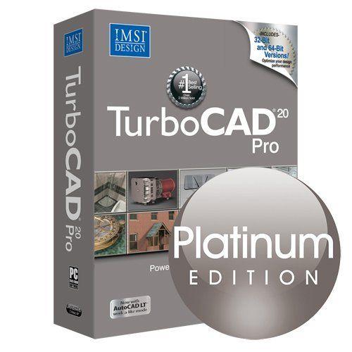 TurboCAD Pro 20 Platinum Edition – Professional 2D & 3D CAD Design Software  http://www.bestcheapsoftware.com/turbocad-pro-20-platinum-edition-professional-2d-3d-cad-design-software-2/