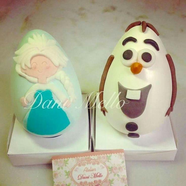 Ovo Elsa Ovo Olaf