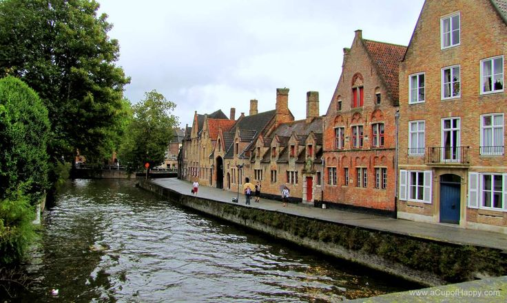 The Charming City of Brugge in Belgium
