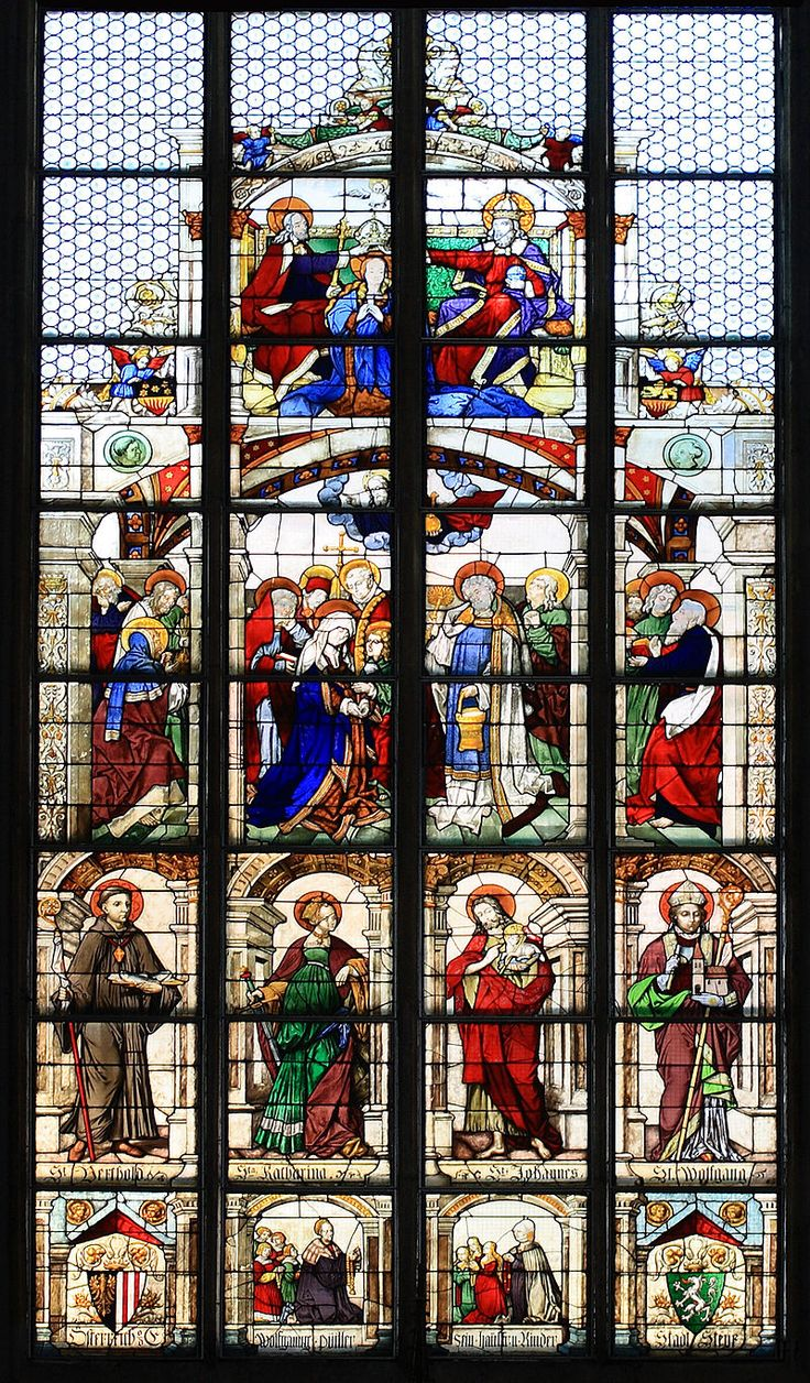 The Death And Assumption Of Virgin Mary Church Ss Agidius Koloman Steyr Austria Find This Pin More On Renaissance Stained Glass