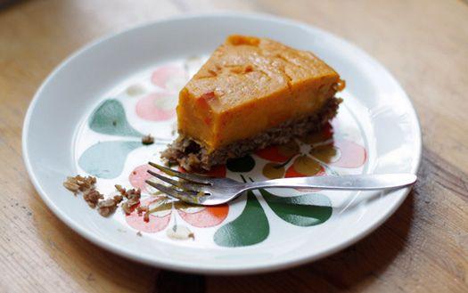 Vegan pumpkin pie by suzettesuzette, via Flickr