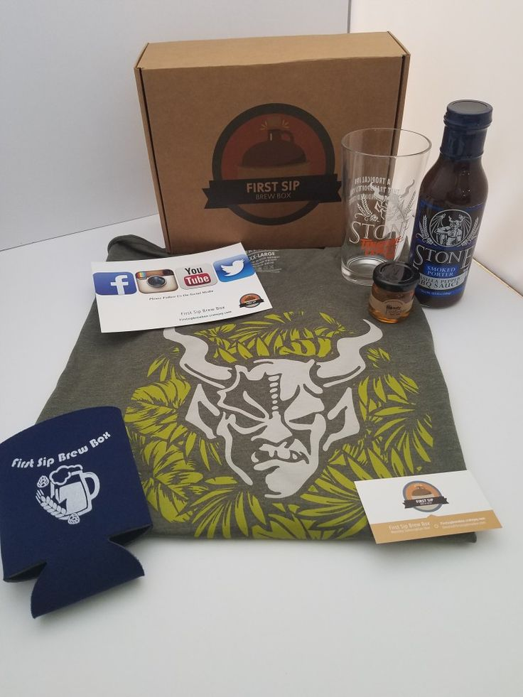 Haven't heard of us?! We are a craft beer subscription box company based in Pittsburgh bringing you beer swag from across the country! Firstsipbrewbox.cratejoy.com to order today!