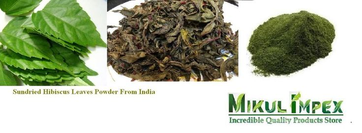 Sundried Hibiscus Leaves Gudhal Leave Powder Herb From India #Unbranded