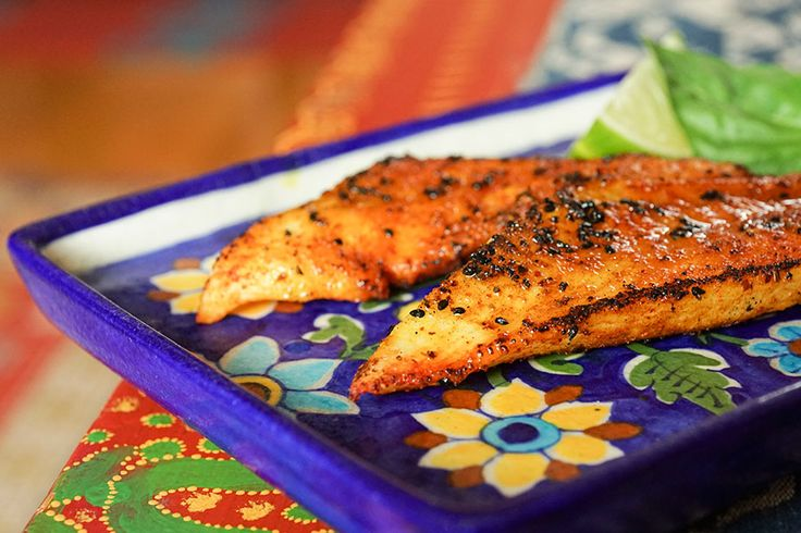 Indian Blackened Fish