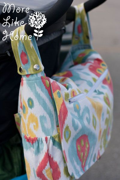 Ok, peeps. Get ready. We're about to make the sweetest, most versatile, storage-packed diaper bag in all of time and space. And the best part? It's totally stroller friendly!  That's right. All the st