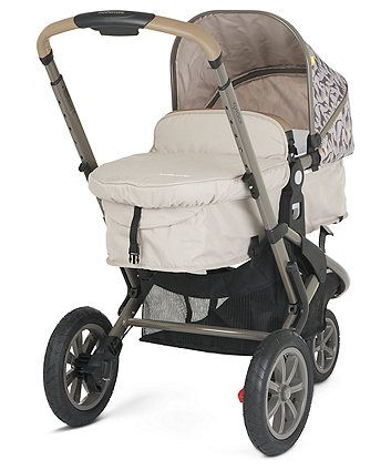 Mothercare Xpedior Pram and Pushchair Travel System - Tusk Special Edition | prams & pushchairs | Mothercare