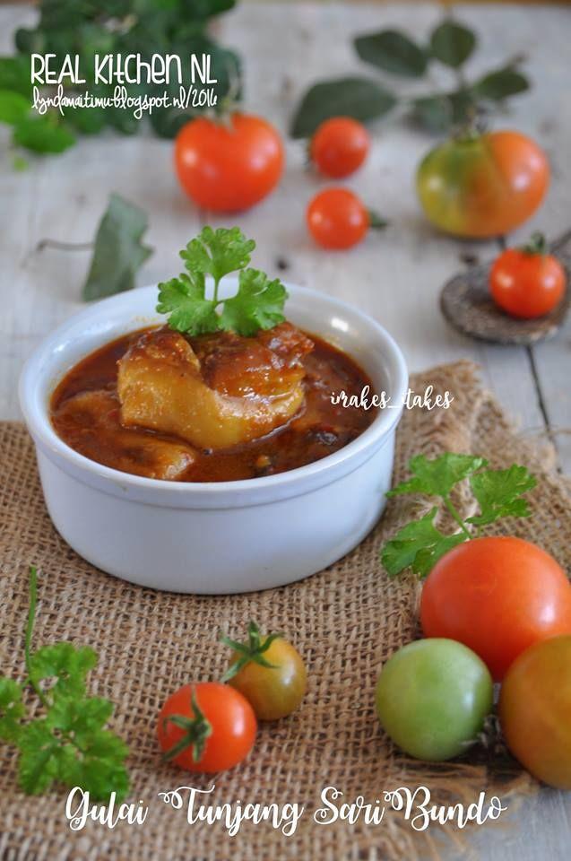 GULAI TUNJANG SariBundo Source: SariBundo MasakanPadang Modifiasi by REAL Kitchen NL      GULAI KIKIL TUNJANG Masakan Padang    Masakan...