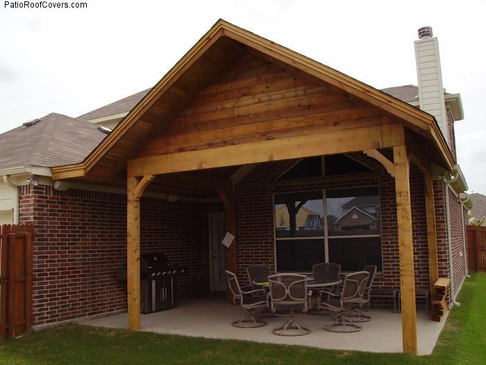 44 best images about patio roof designs on pinterest for Gable roof design ideas