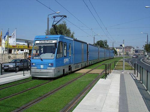 Cargo tram