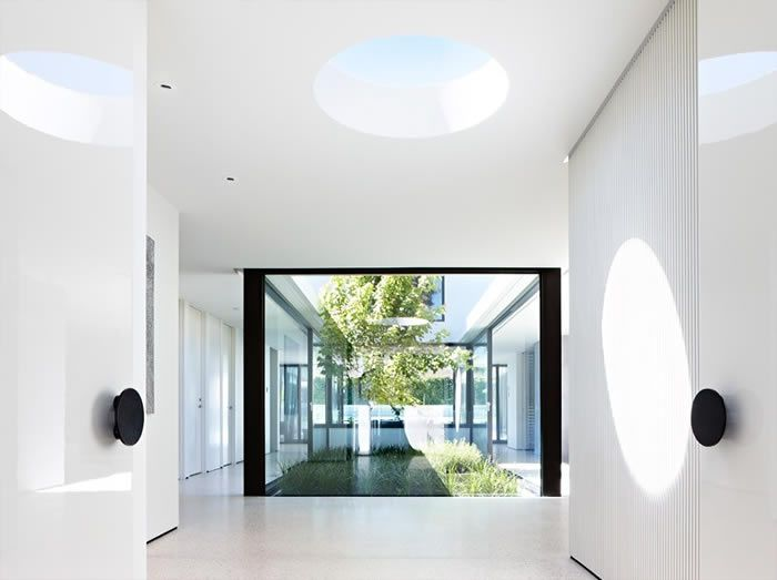 Light Blue From Skylights Open Interior Courtyard Sky Art Photography Canvas Paintings Should Be Considered In Limited Amount Grand Designs Australia