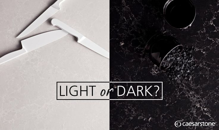 One of the hardest decisions to make when designing your new kitchen is deceptively simple - light or dark? Our online Visualiser is a great way to try colour schemes to decide which style you love most → http://www.caesarstone.com/en/Pages/The-Visualiser.aspx