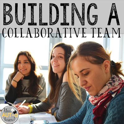 Building a collaborative team can be a lot of work.  Check out how I use an activity matrix to build our team rapport and build student achievement.