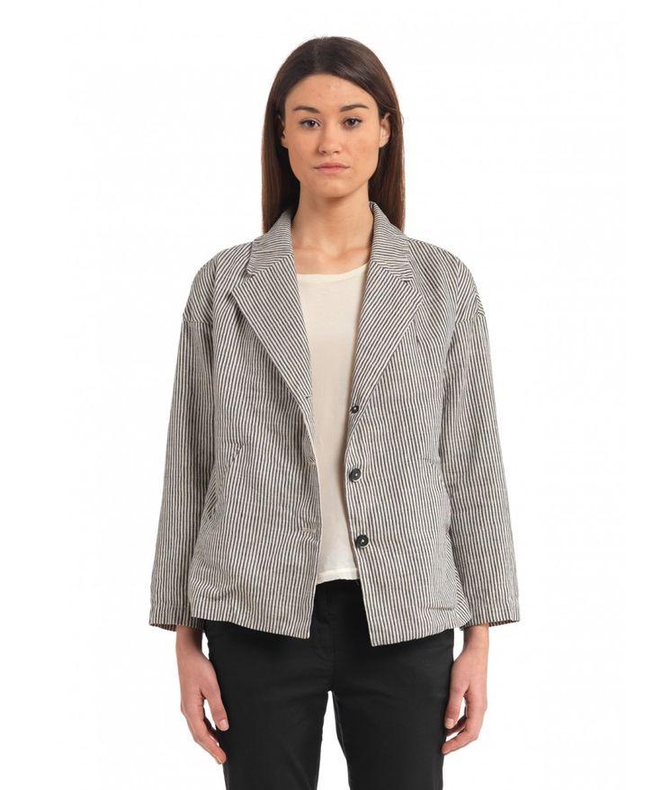 Coat Grace Marghera Navy - Shop - www.barenavenezia.com