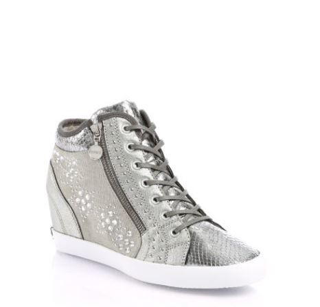 Sneakers con zeppa interna Guess primavera estate 2014 prezzo 150 euro