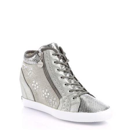 Sneakers con zeppa interna Guess primavera estate 2014 prezzo 150 euro