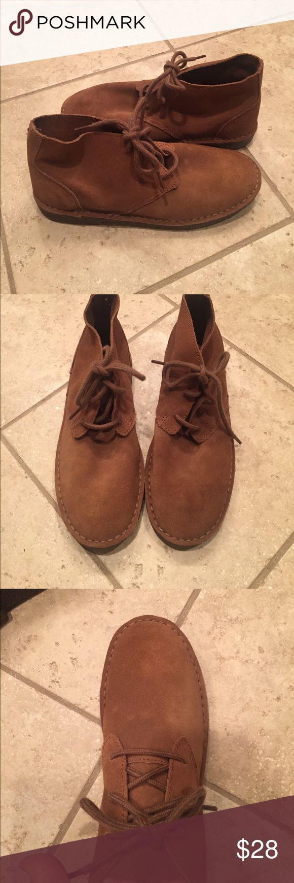 Perry Ellis men's moccasin boots size 8. New! Perry Ellis men's moccasin boots size 8. New! Perfect! No box. Perfect for fall! Perry  Ellis Shoes Boots