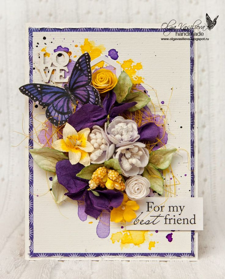 Sizzix Card Making Ideas Part - 39: Crafting Ideas From Sizzix UK: Olga Vasilieva · Butterfly CardsFlower ...