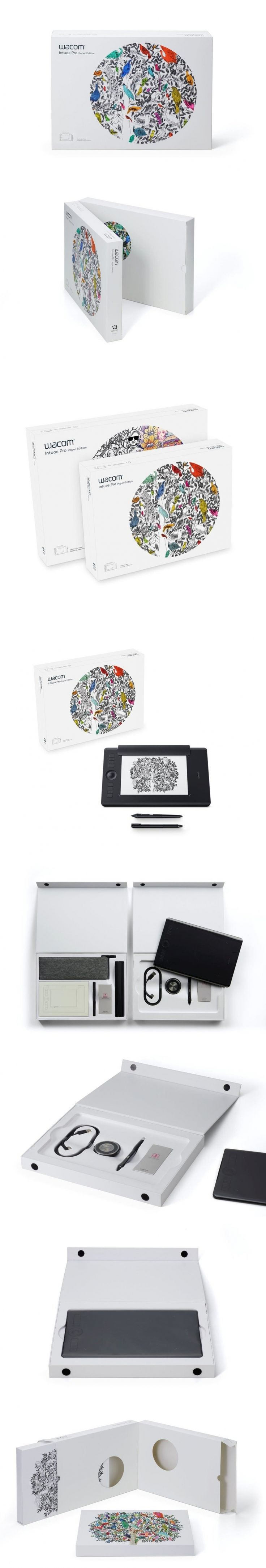 Wacom Intuos Paper Edition Wants You To Visualize Where The Product Can Take You — The Dieline | Packaging & Branding Design & Innovation News