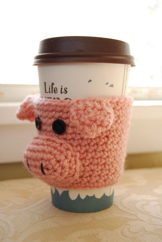 Café acogedor acogedor café cerdo acogedor por mladycollection