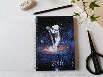 A5 Jahresplanner - Terminkalender 2016