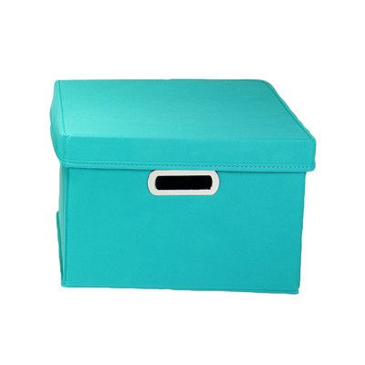Found it at Wayfair - Wayfair Basics Storage Box with Lid