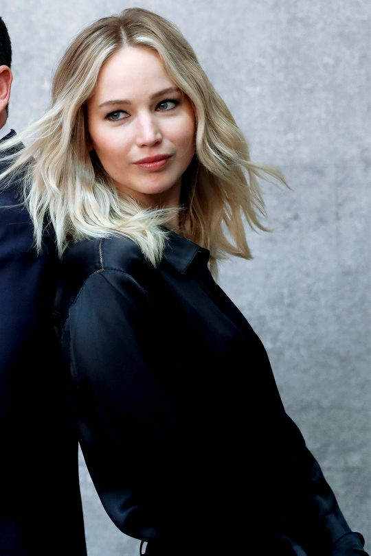 """Jennifer Lawrence photographed for Variety's """"Actors on Actors"""""""