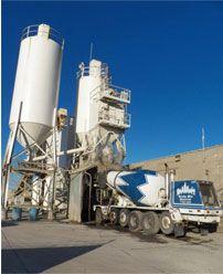Ready Mix Concrete Supplier Industrial Plant Photo