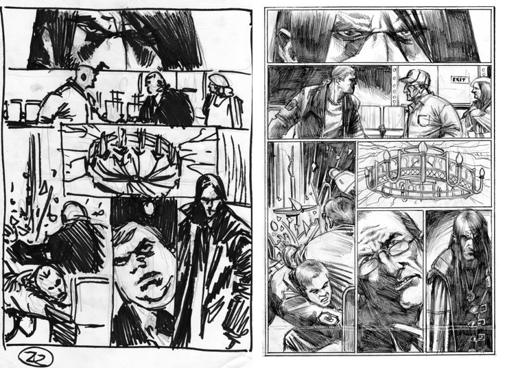 Behind the scenes look at the process from thumbnails to pencils in THE NIGHT PROJECTIONIST! Enjoy!