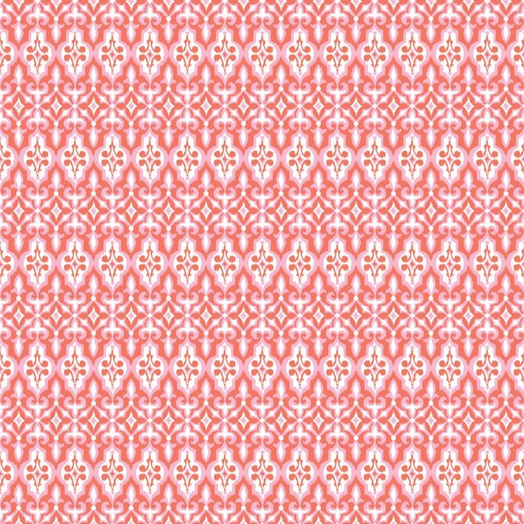 Blend - Turkish Delight Ironwork Coral - cotton fabric