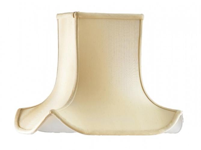 Silk Lamp Shades   Elstead Luis Collection Antique Gold Silk Pagoda Lamp  Shade