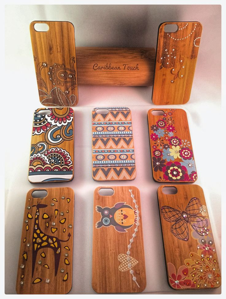 Bamboo iPhone cases www.caribbeantouchllc.etsy.com