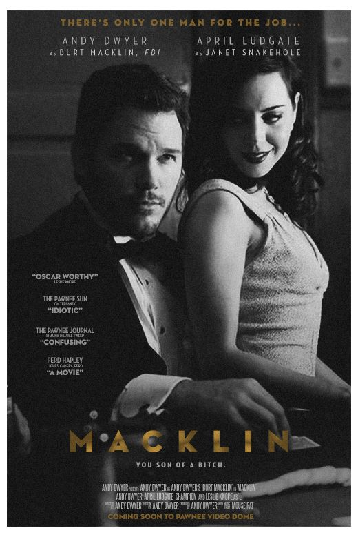 Bert Macklin and Janet Snakehole