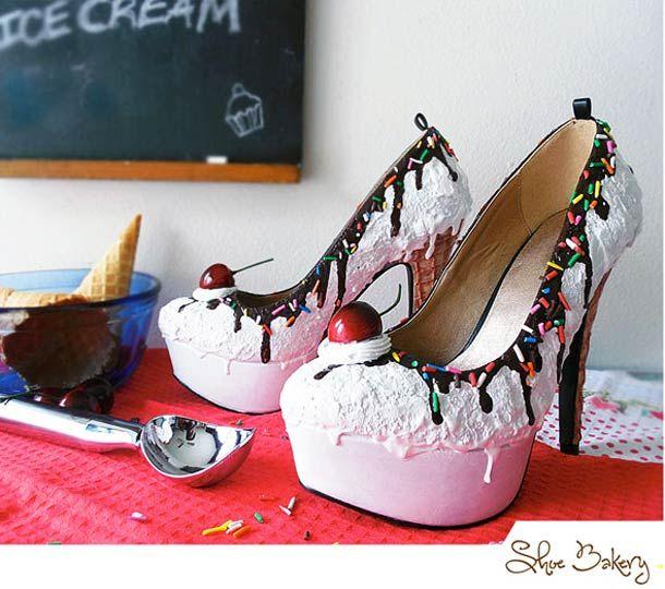 Shoe Bakery – Les chaussures les plus appétissantes…