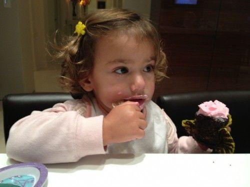 Valentina, la fille d'Adriana Lima