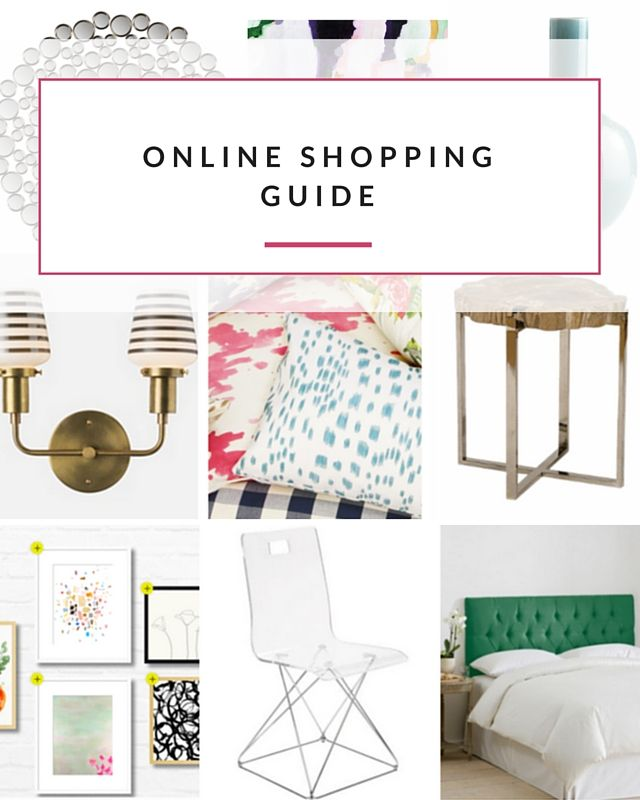 The best places on the web to shop for your home. (Categorized by item and price!)