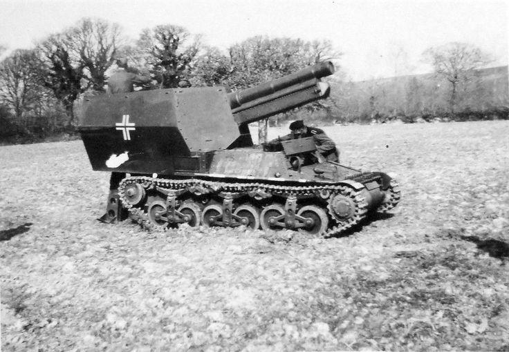https://flic.kr/p/mdpYRH | 15 cm s.FH 13/1 (Sf.) auf Geschützwagen Lorraine Schlepper (f) (Sd.Kfz. 135/1)