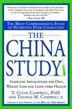 The China Study book. A research on nutrition, diet & insight on long term health.